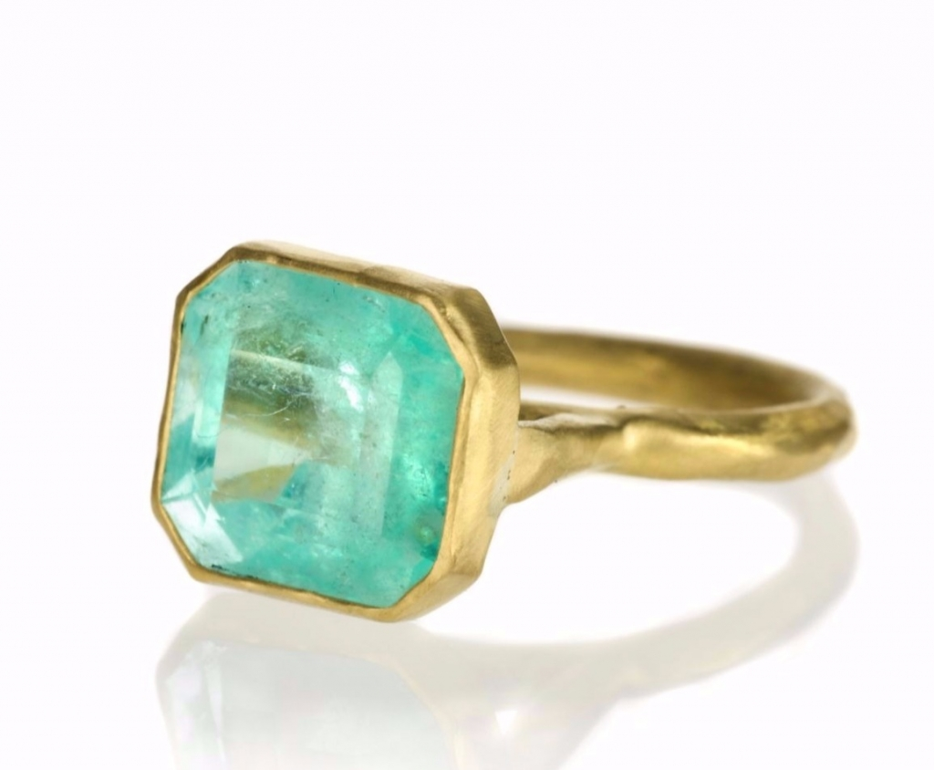 Ring in 22k gold by Margery Hirschey