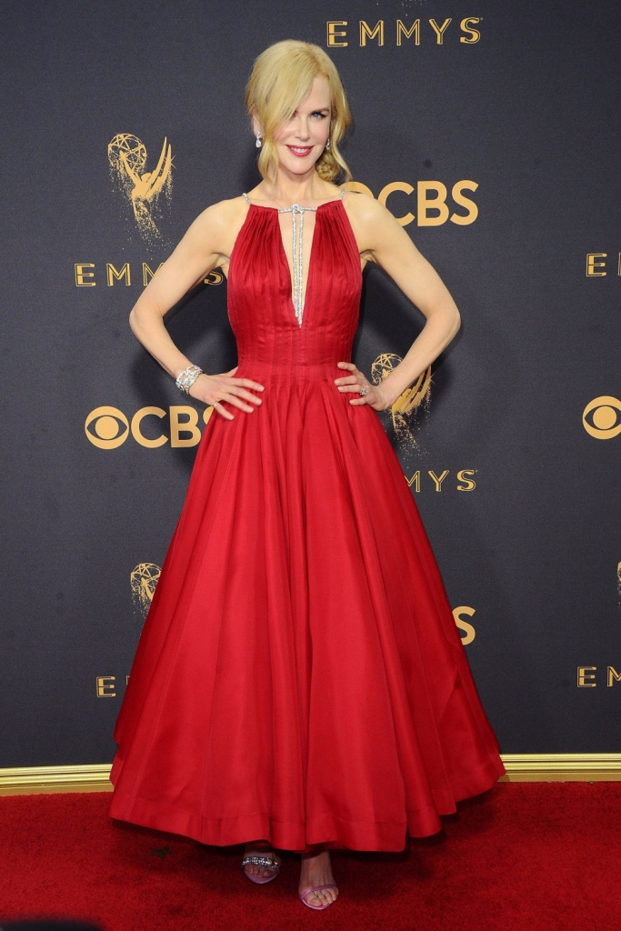 Nicole Kidman in Harry Winston jewels at the Emmys