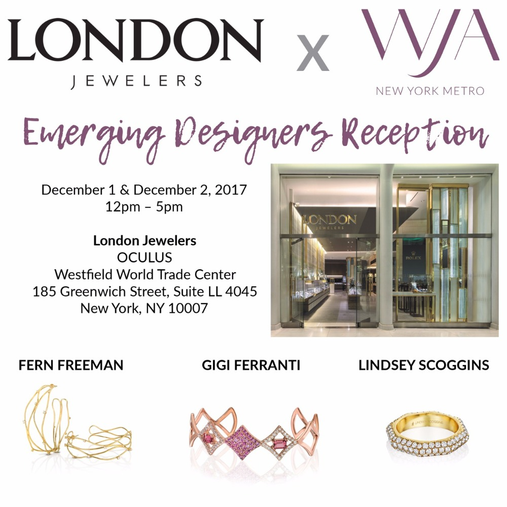 London Jewelers x WJA Emerging Designer sale