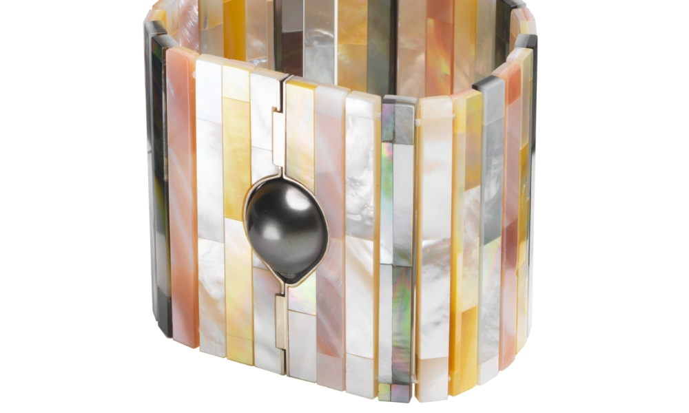 Melanie Georgacopoulos mother-of-pearl jewelry