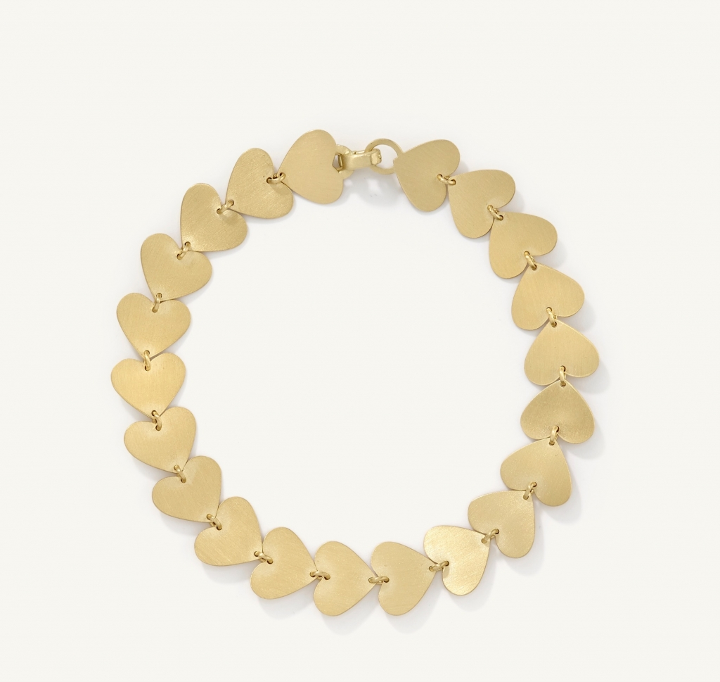Small Love Link bracelet in 18k rose gold, $4,710; Irene Neuwirth