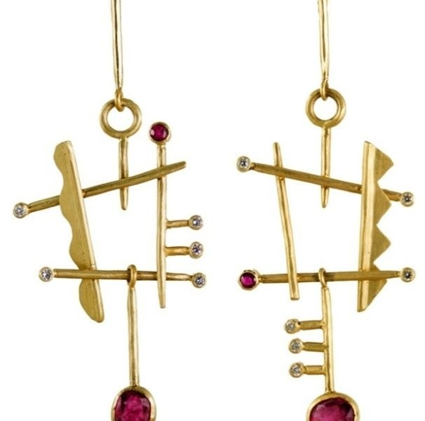 Margery Hirschey Orpheus Collection earrings