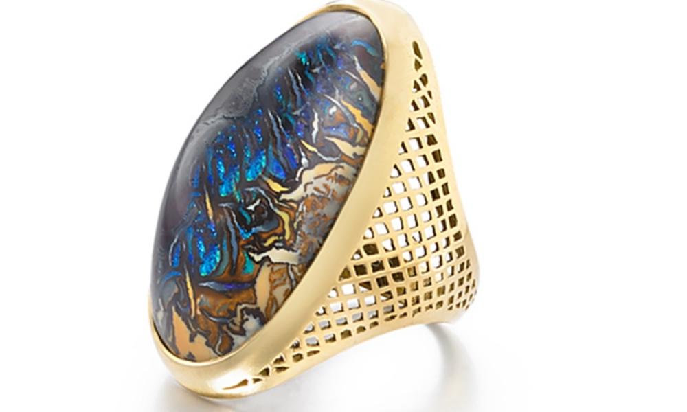 Ray Griffiths opal ring