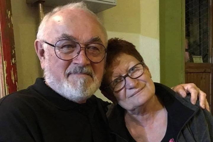 Peter Egan with Milena Malesevic