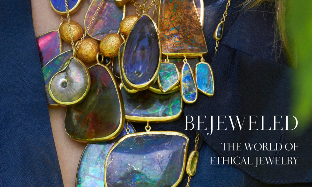 "Find ""Bejeweled: The World of Ethical Jewelry"" by Kyle Roderick, Rizzoli New York 2019, on Amazon.com."