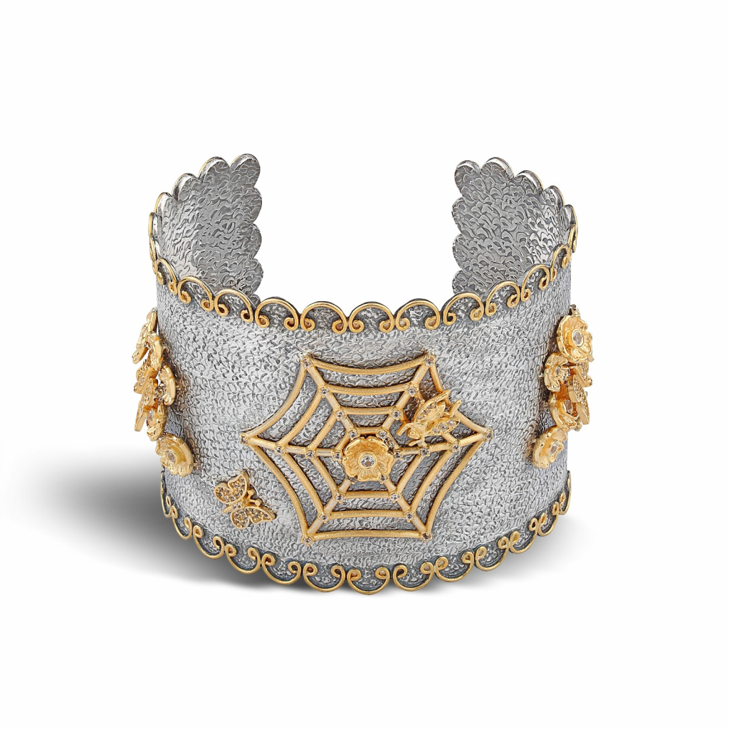 Cuff in ethical metals from Stella Flame