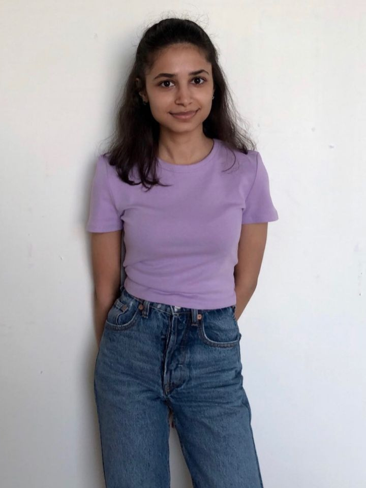 Aparna Sarogi, a a 21-year-old fashion design student at The New School, Parsons School of Design, in New York City. Sarogi is currently serving as an intern for JenniferHeebner.com.