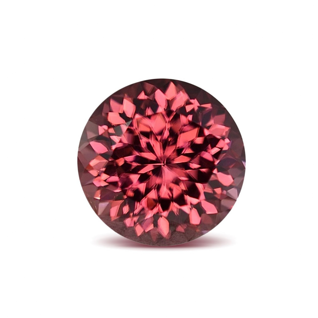 Rose-color zircon from Color First