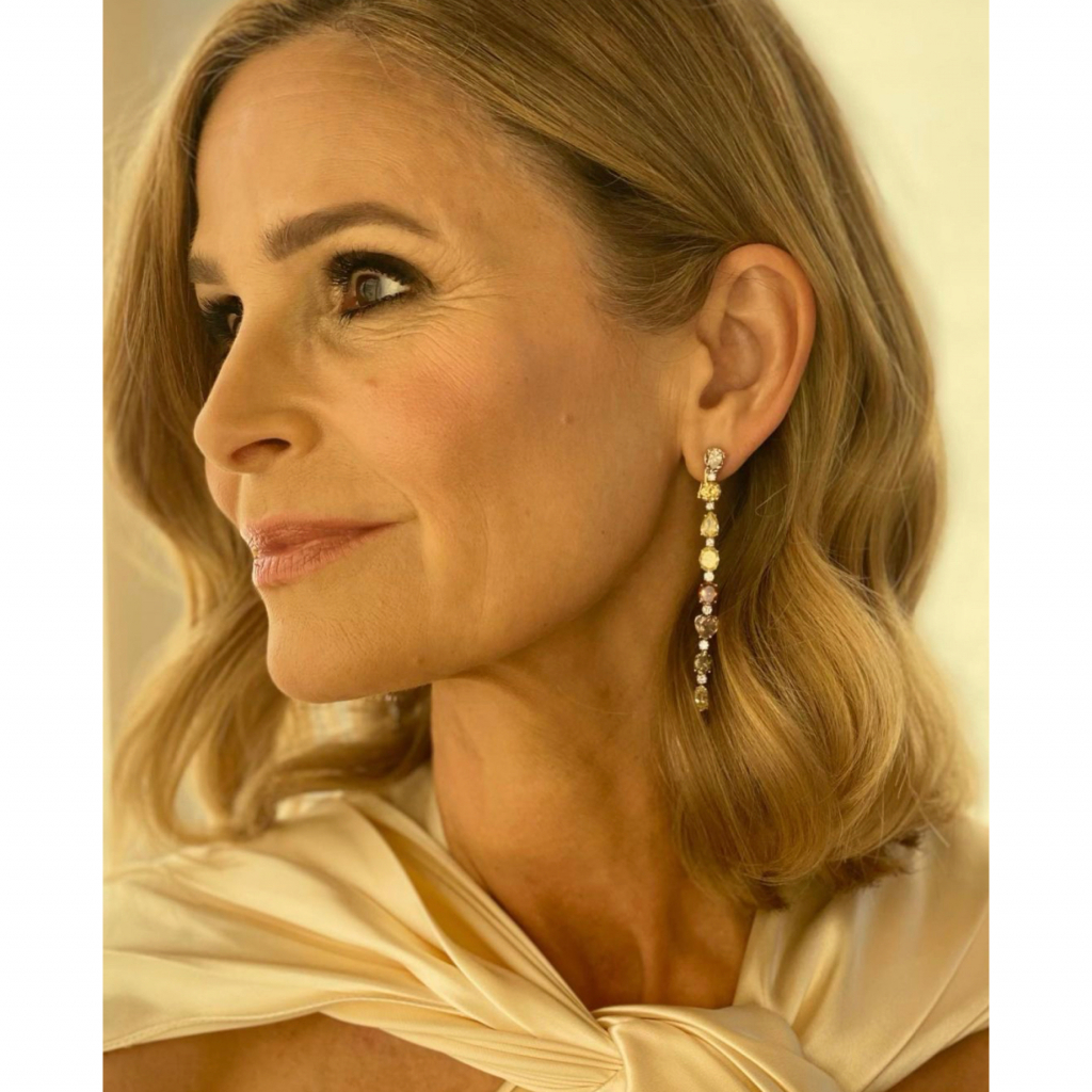 Kyra Sedgwick in Chopard. Sedgwick was a presenter for the evening. Source: @kyrasedgwickofficial
